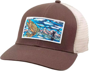 Кепка Simms Artist Trucker One size ц:brown