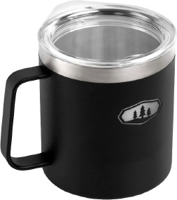 Термокружка GSI Glacier Stainless Camp Cup 425ml ц:black