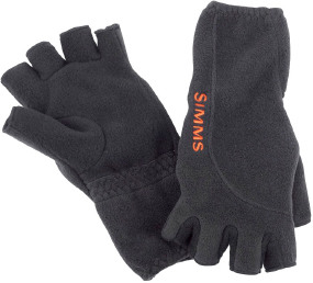 Перчатки Simms Headwaters Half Finger Glove ц:black