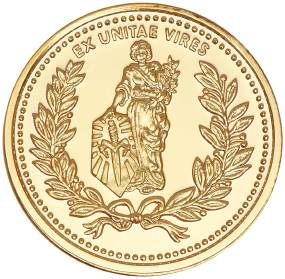 Монета Microtech Gold Coin