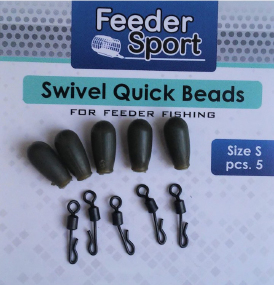 Буфер Feeder Sport Swive Quick Beads