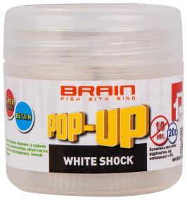 Бойлы Brain Pop-Up F1 White Shock (белый шоколад) 8mm 20g