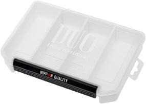 Коробка DUO Lure Case 3010 White/Silver Logo