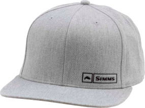 Кепка Simms Trout Logo Lockup Cap One size ц:heather grey