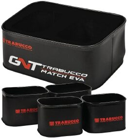 Набор Trabucco GNT Match EVA Grundbait Mini Bowl Set 1+4