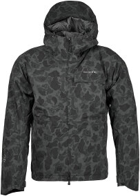 Куртка Shimano GORE-TEX Explore Warm Jacket ц:black duck camo