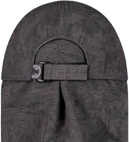 Кепка Buff Bimini Cap zinc dark grey