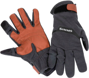 Перчатки Simms Lightweight Wool Tech Glove ц:carbon