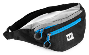 Сумка на пояс Spokey BOREAS(839664) black/blue