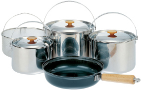 Набор посуды Snow Peak CS-021 Multi-Purpose Cookset 1