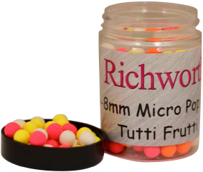 Бойлы Richworth Micro Pop-Ups Tutti Frutti 6-8mm