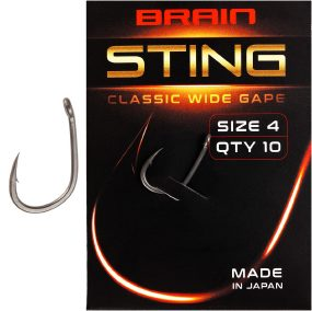 Крючок Brain Sting Classic Wide Gape #4 (10 шт/уп)