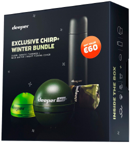 Эхолот Deeper Chirp+ WiFi+GPS Winter Bundle (набор)