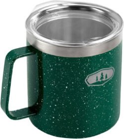 Термокружка GSI Glacier Stainless Camp Cup 425ml ц:green