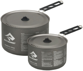 Набор посуды Sea To Summit Alpha Pot Set 2.0 ц:grey