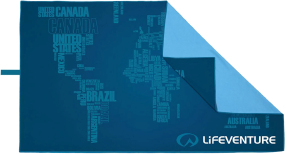 Полотенце Lifeventure SoftFibre Words Print Travel Towel