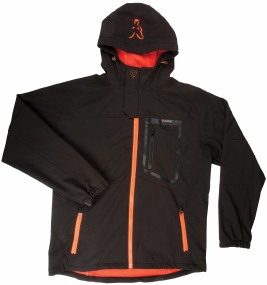 Куртка Fox International Softshell Jacket ц:black/orange