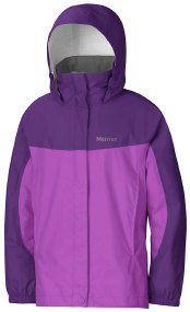 Куртка MARMOT Girl's PreCip Jacket ц:purple shadowavender voilet