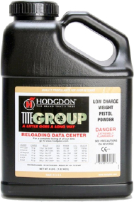 Порох Hodgdon Titegroup. Вес - 3,63 кг