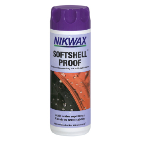 Средство для ухода Nikwax Soft shell proof wash-in 300мл