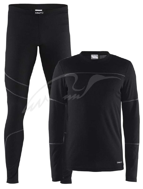Термобелье CRAFT Baselayer Set ц:black/granite